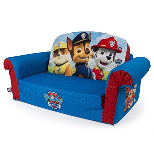 Excellent Marshmallow Furniture Childrens 2 In 1 Flip Open Foam Sofa Nickelodeon Paw Patrol By Spin Master Home Interior And Landscaping Ologienasavecom