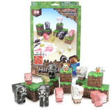 Minecraft Papercraft Animal Mobs Set (Over 30 Pieces)