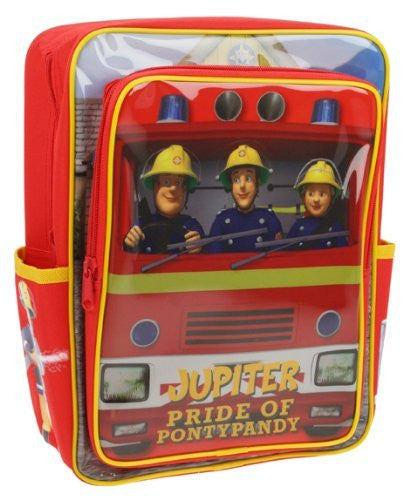 Fireman Sam Red Square Backpack