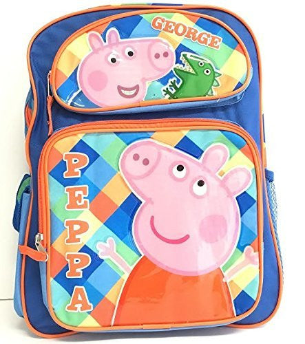 "Peppa Pig George 12"" Toddler Backpack"