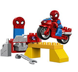 LEGO DUPLO 10607 Super Heroes Marvel Spider-Man Web-Bike Workshop
