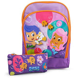 Bubble Guppies Toddler Backpack with Pencil Case