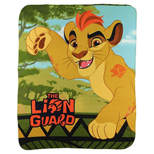 "The Lion Guard ""Kion"" Kids Character Lightweight Fleece Throw Blanket"