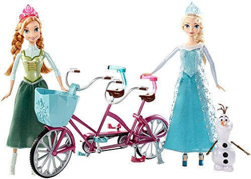 Disney Frozen Anna and Elsa's Musical Bicycle Playset