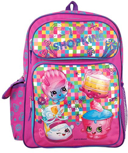 "Global Design Shopkins 16"" Large Backpack"