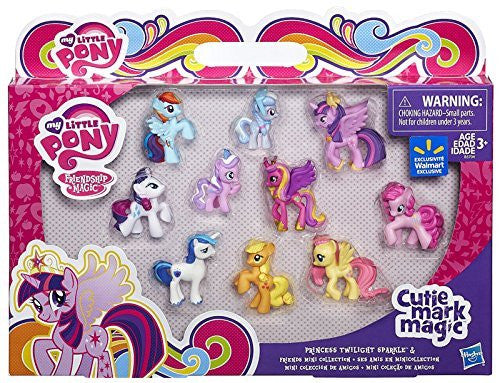My Little Pony Friendship is Magic Cutie Mark Magic Princess Twilight Sparkle & Friends Mini Collection