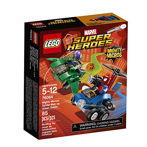 LEGO Marvel Super Heroes Mighty Micros: Spider-Man vs. Green Goblin (76064)
