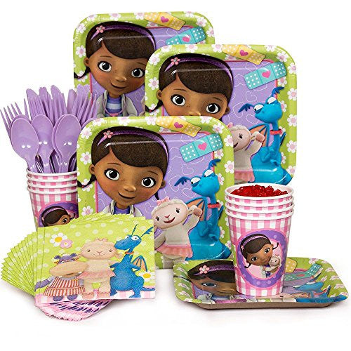 Costume Supercenter BBKIT287 Doc McStuffins Standard Kit (Serves 8)