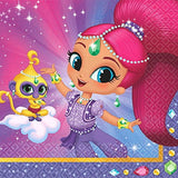 Shimmer and Shine Birthday Party Supplies Dessert Plates, Napkins Party Pack for 16