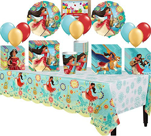 Princess Elena of Avalor Deluxe Party Pack Bundle
