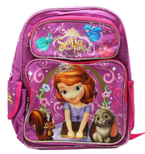 Backpack - Disney - Sofia the First - Animals Large School Bag