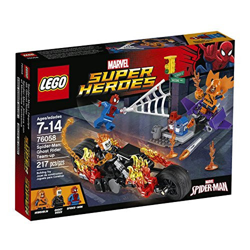 LEGO Super Heroes 76058 Spider-Man: Ghost Rider Team-up Building Kit (217 Piece)