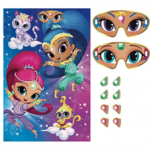 Shimmer and Shine Party Game Poster (1ct)