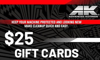AK Gift Cards $25- Advanced Kotings Cleaning Products