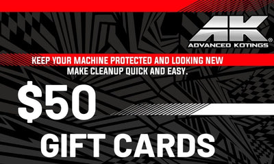 AK Gift Cards $50 - Advanced Kotings Cleaning Products