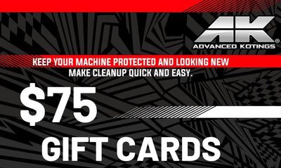 AK Gift Cards $75 - Advanced Kotings Cleaning Products
