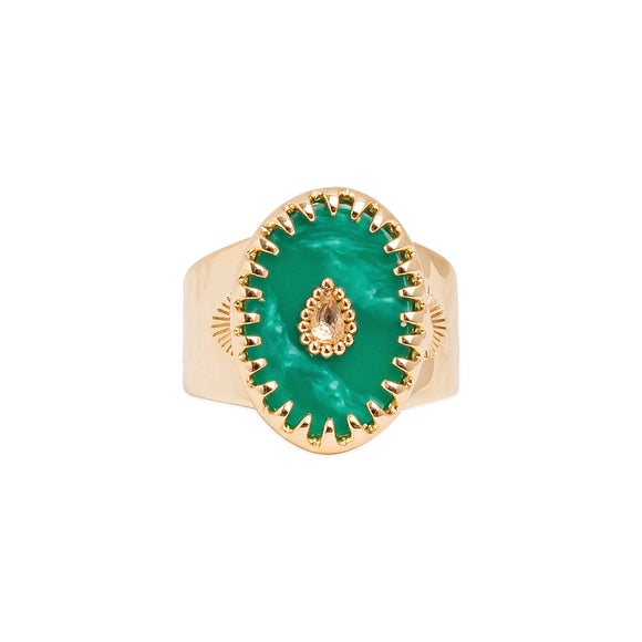 RING ACHILLE EMERALD