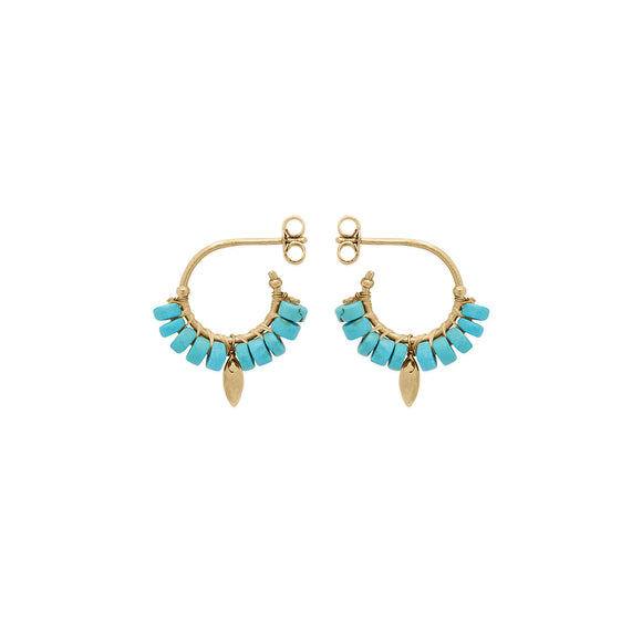Earrings BRYCE Turquoise