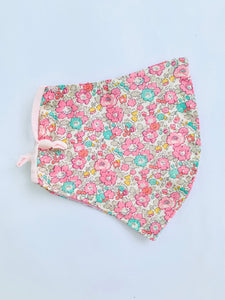 FACE MASK LIBERTY OF LONDON Betsy Ann Pink (2 sizes)
