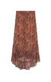 Long skirt Jalouse caramel