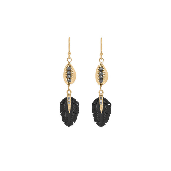 Earings Kesiah black