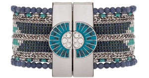 Large Cuff Eternity Navy