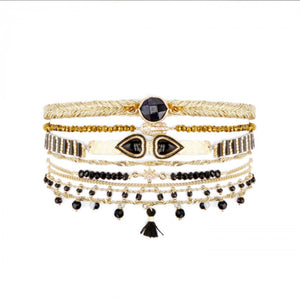 Large cuff Splendor black