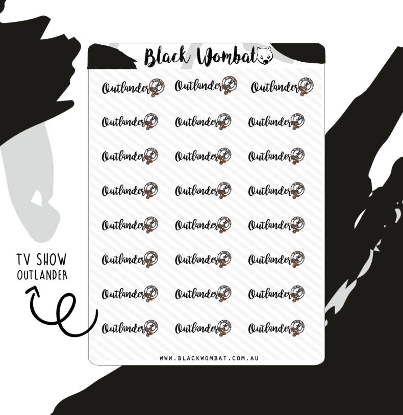 TV Show: Outlander Planner Stickers