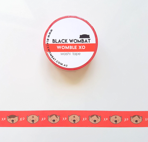 Womble XO - Washi Tape