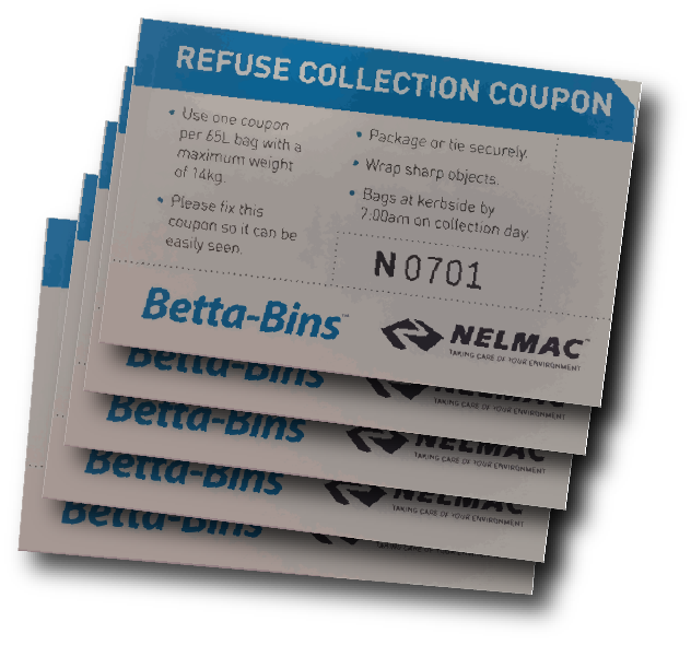 Refuse Collection Coupons