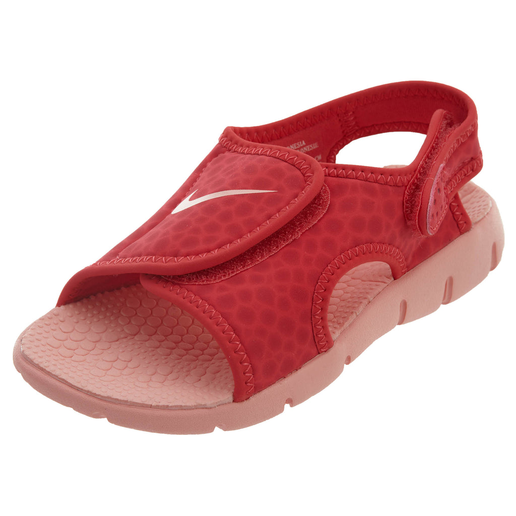 Nike Sunray Adjust 4 Tropical Pink Sandals Boys / Girls Style :386520