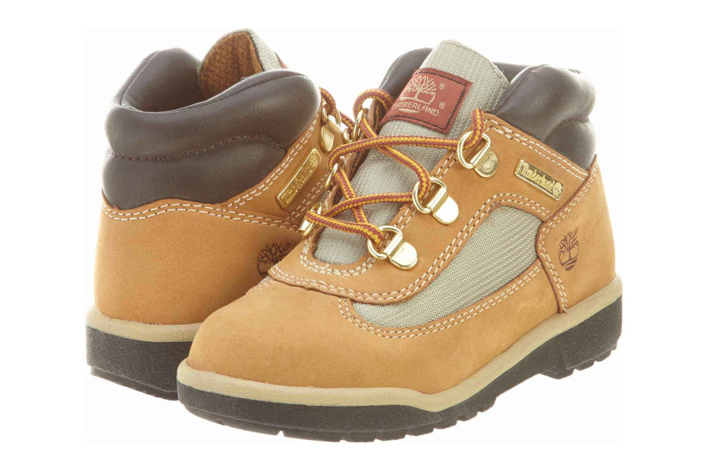 Timberland Field Boot Leather/Fabric Toddlers Style 15845