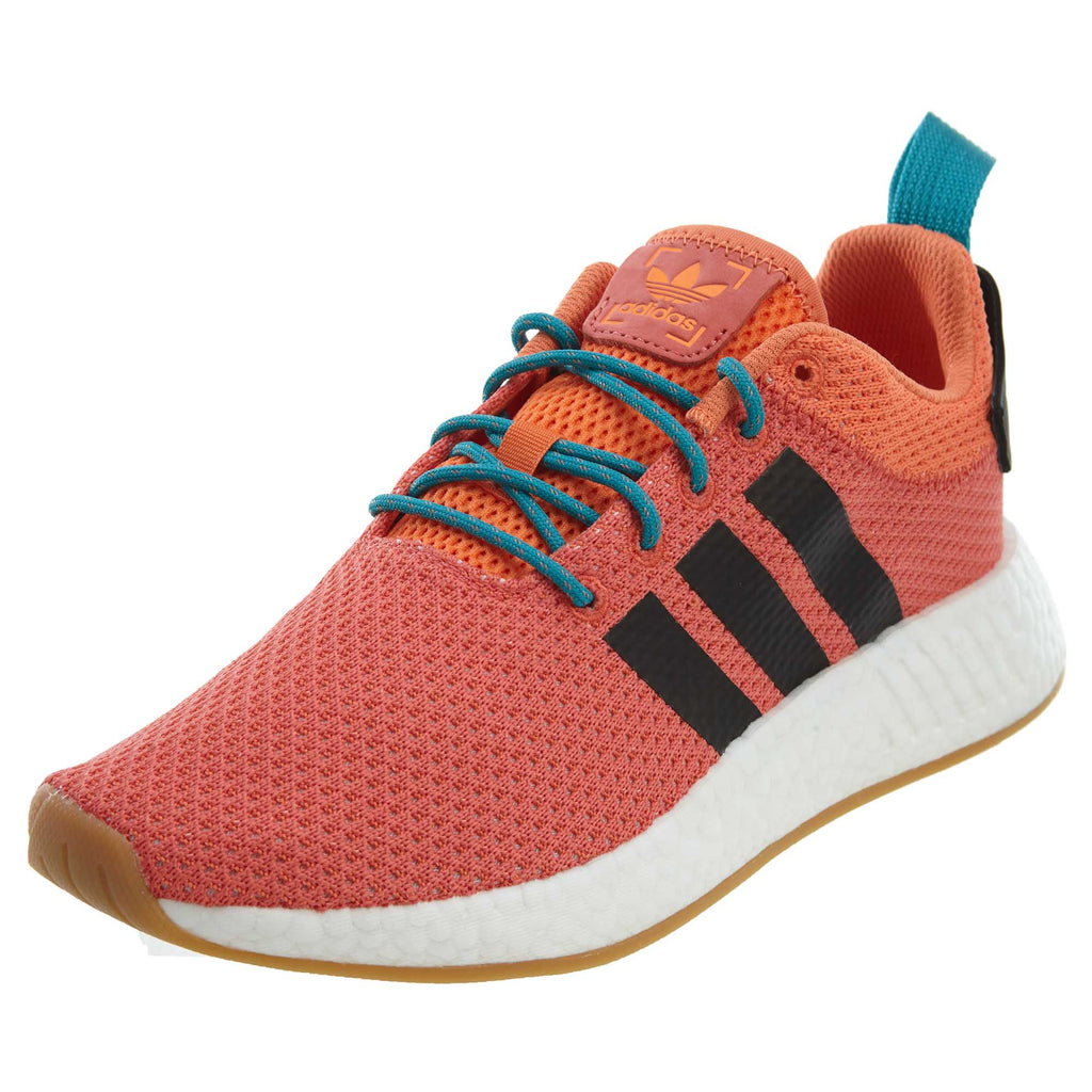 Adidas NMD R2 Summer Trace Orange Knit Boost Mens Style :CQ3081