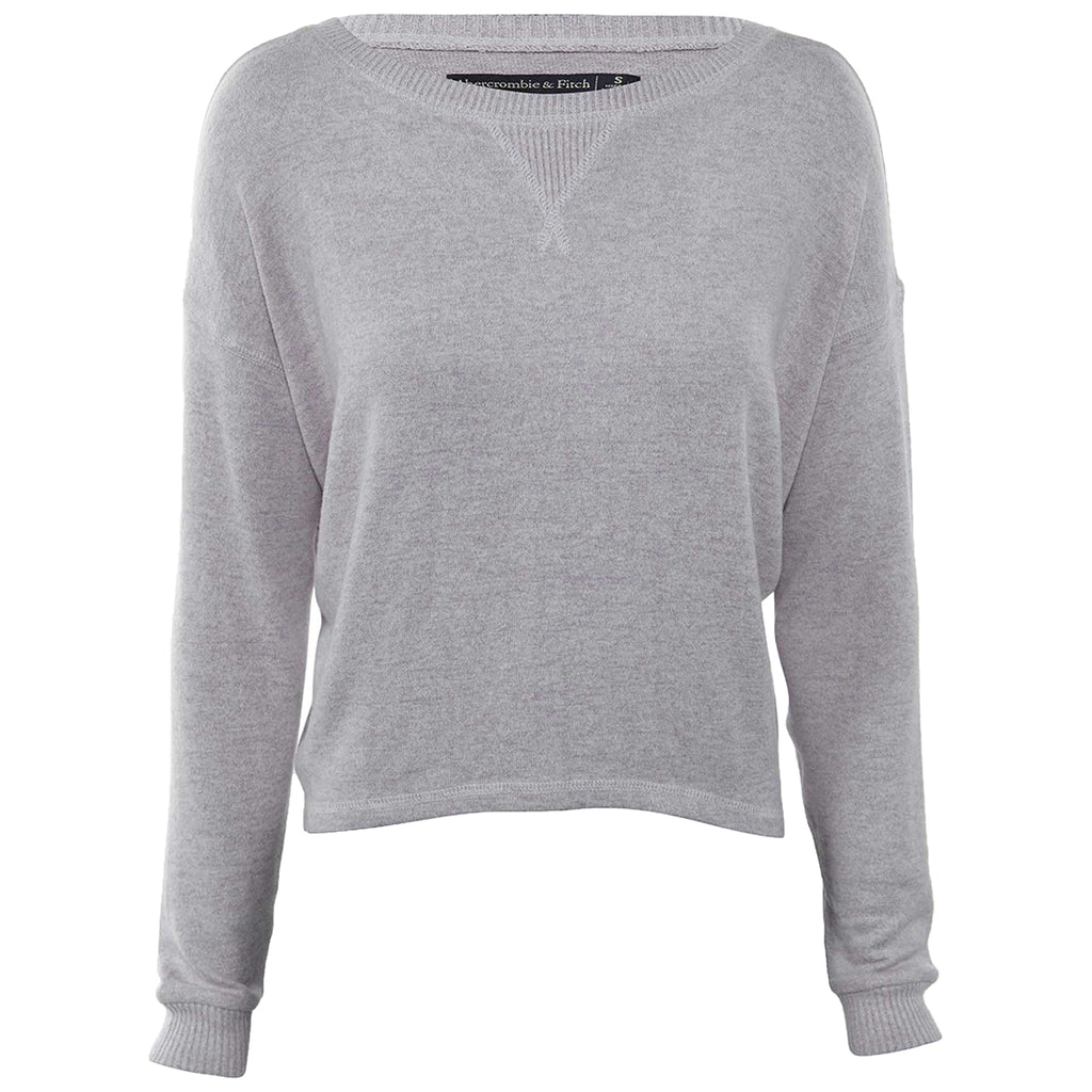 Abercrombie & Fitch Cropped Crew Womens Style : 139-516-0449