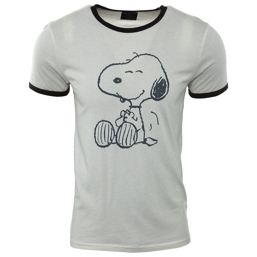 Abercrombie & Fitch Snoopy T-shirt Mens Style : 195-123-0859