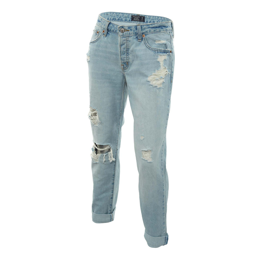 Abercrombie & Fitch Low-rise Boyfriend Jeans Womens Style : 155-555-1471