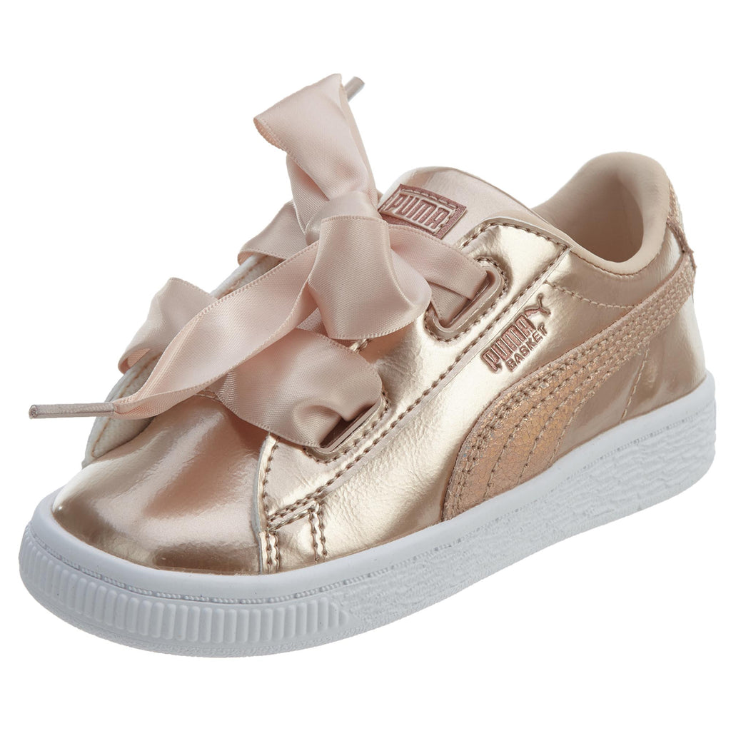 Puma Basket Heart Lunar Lux Toddlers Style : 365995