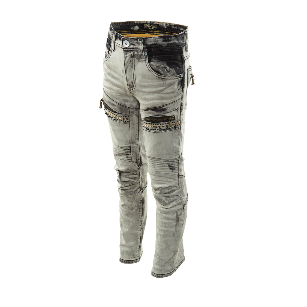 8ighth/dstrkt Biker Fit Denim Womens Style : Ds8302b