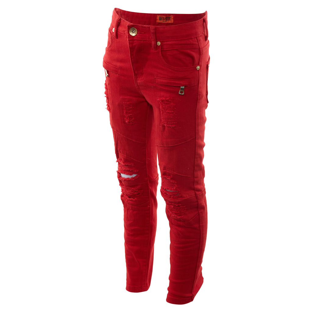 8ighth/dstrkt Biker Fit Twill Pant Big Kids Style : Ds8300b