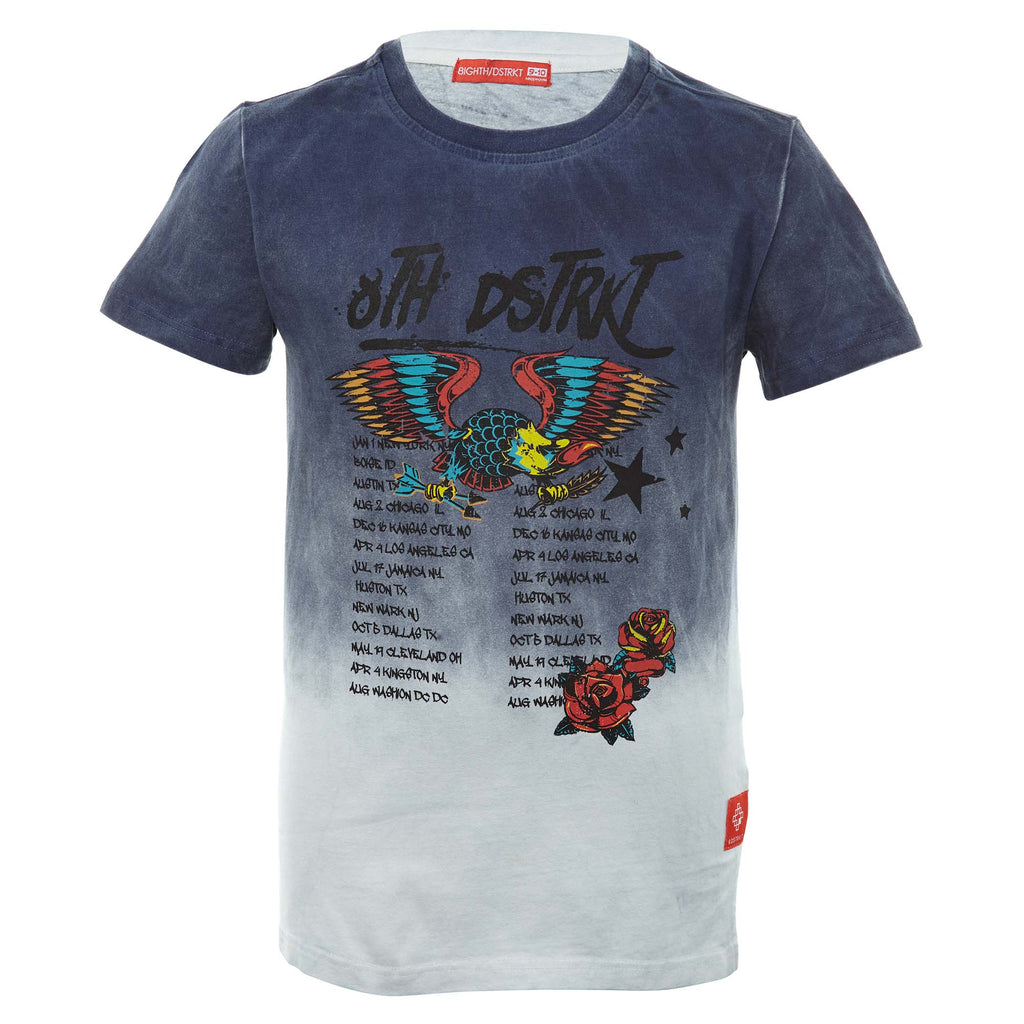 8ighth/dstrkt S/s Single Jersey Tee Big Kids Style : Ds8013b