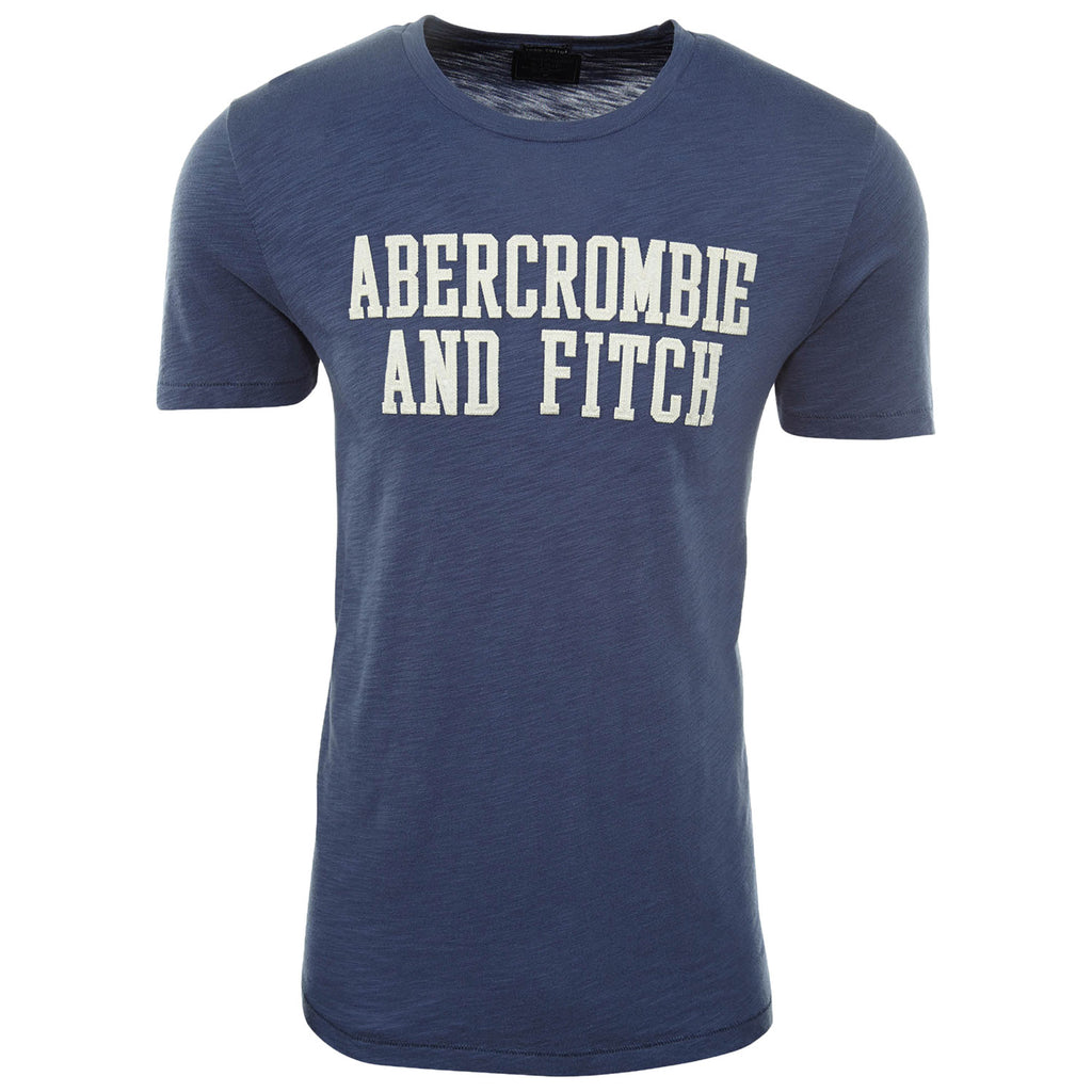 Abercrombie & Fitch Applique Logo Tee Mens Style : 123-238-2293
