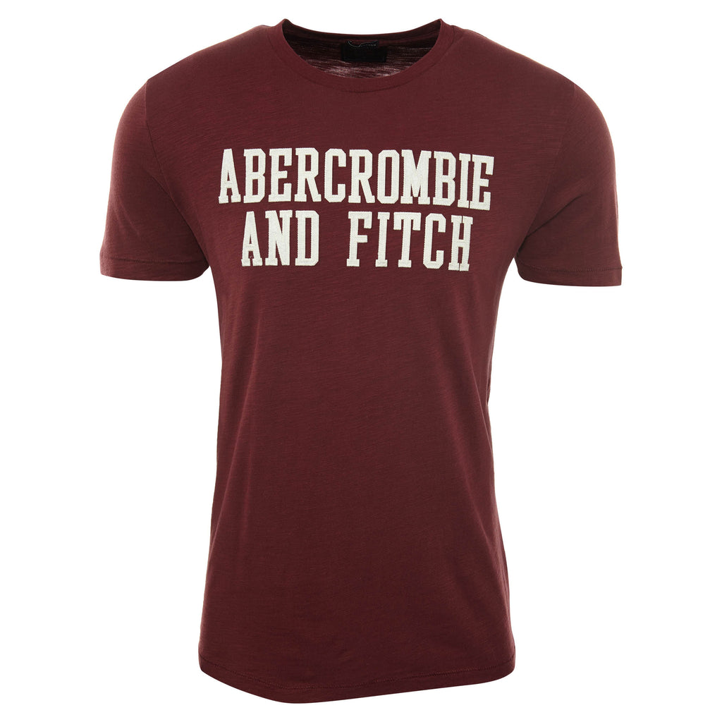Abercrombie & Fitch Applique Logo Graphic Tee Mens Style : 123-238-2293