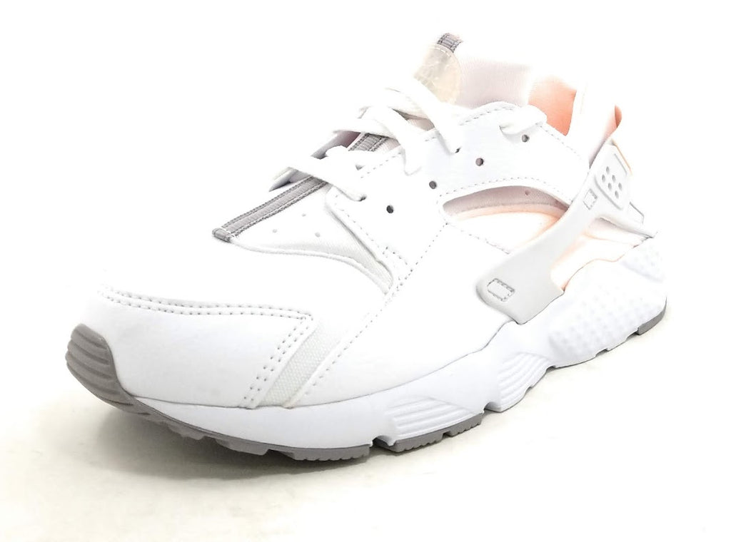 Nike Huarache Run White Crimson Shoes Boys / Girls Style :704951