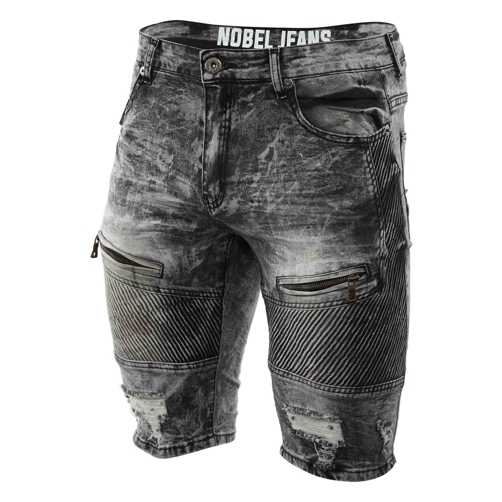 Nobel Jeans Denim Short Mens Style : S13