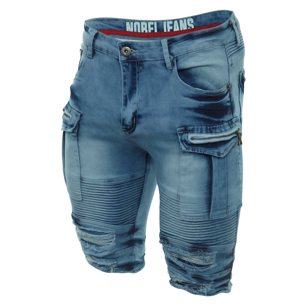 Nobel Jeans Denim Short Mens Style : S14