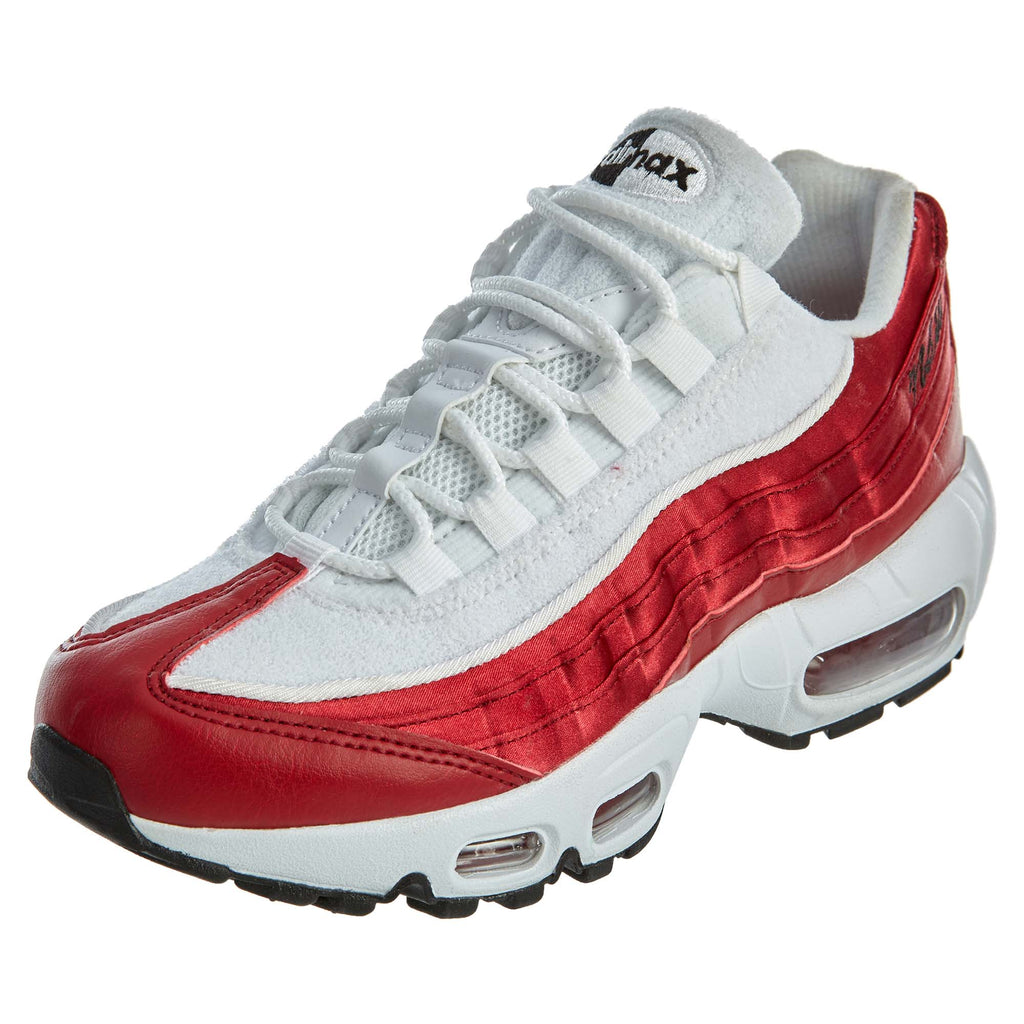 Nike Air Max 95 LX NSW Red Crush White Womens Style :AA1103