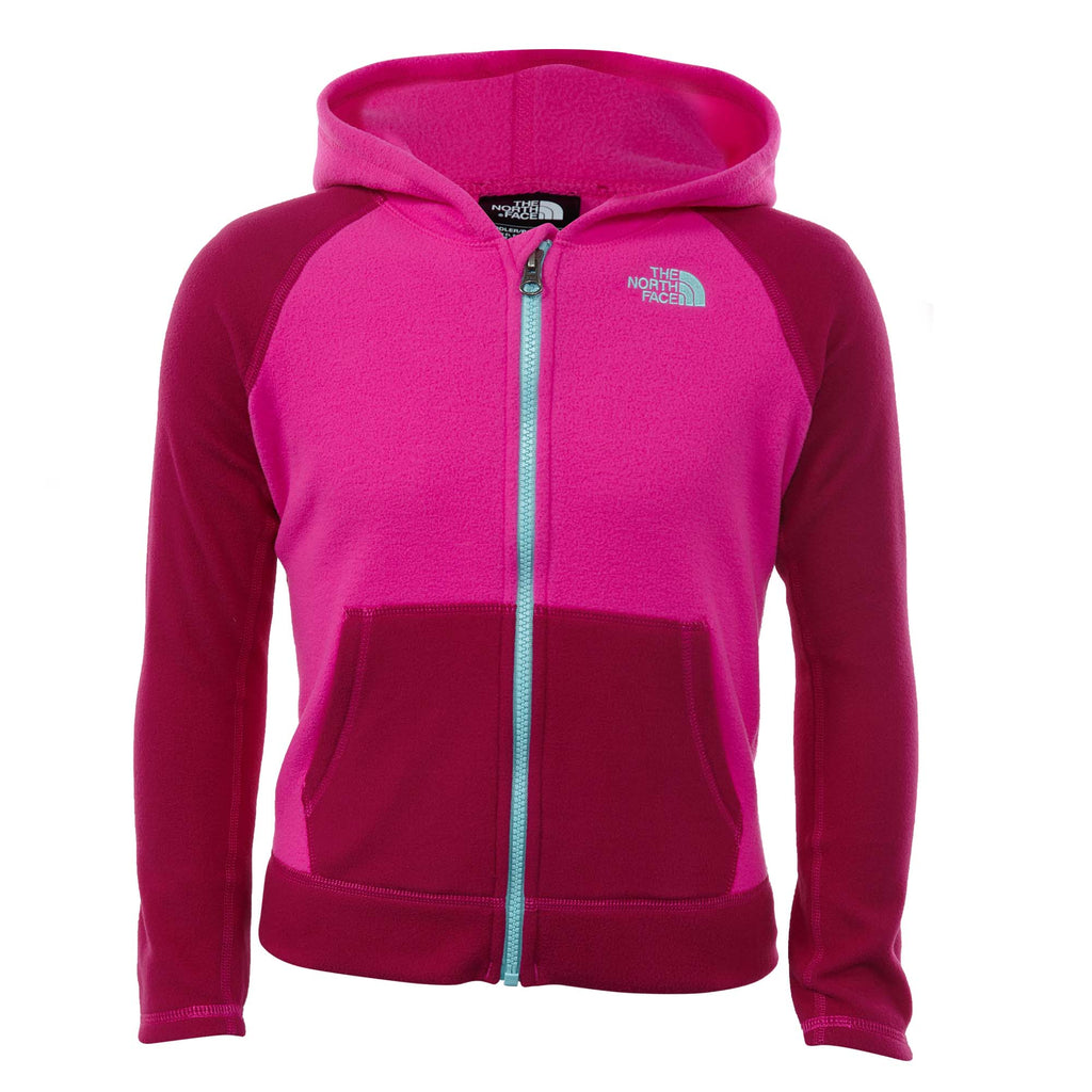 North Face Glacier Full Zip Hoodie Toddlers Style : A34wa-H0E