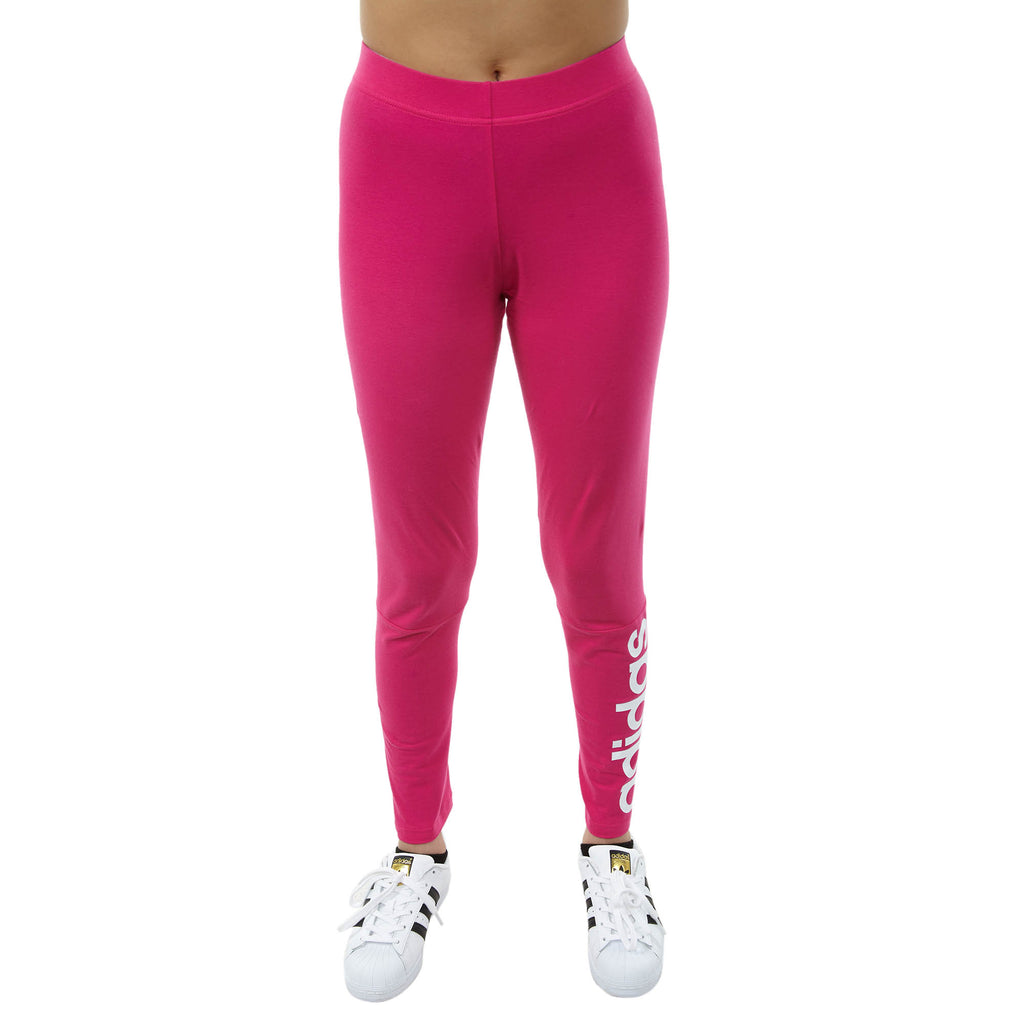 Adidas Essential Linear Tights Womens Style : Cz5743-Magenta