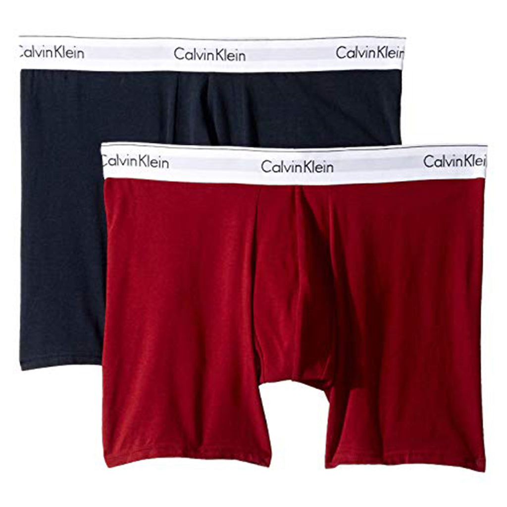 Calvin Klein Modern Cotton Stretch 2 Pack Boxer Brief Mens Style : Nb1087-675