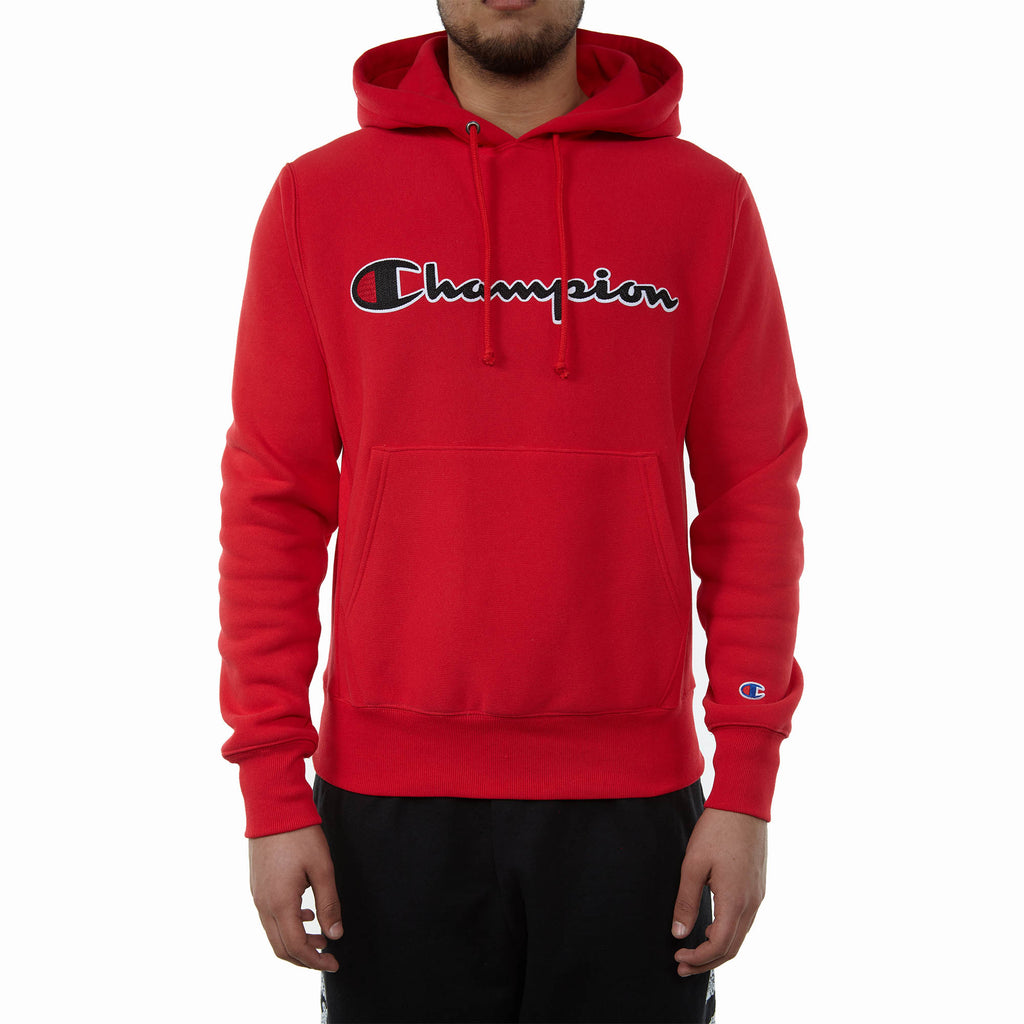 Champion Fleece Pullover Hoodie Mens Style : Gf68y07471-2WC
